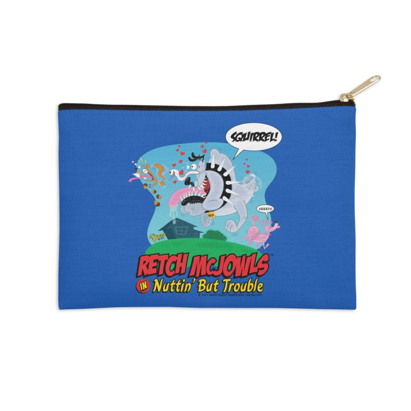 Retch McJowls Accessories Zip Pouch by righthemispherelaboratory's Shop