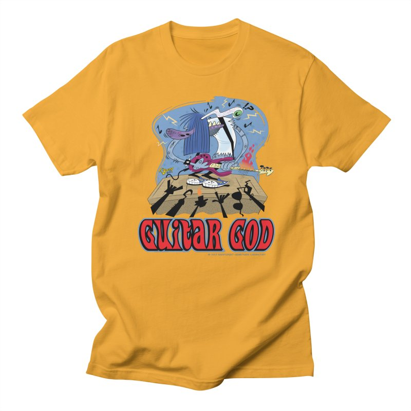 Guitar God Women's T-Shirt by righthemispherelaboratory's Shop
