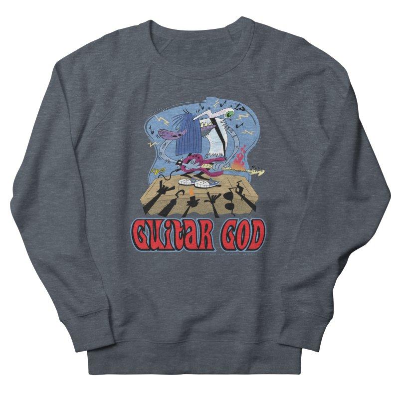 Guitar God Women's Sweatshirt by righthemispherelaboratory's Shop