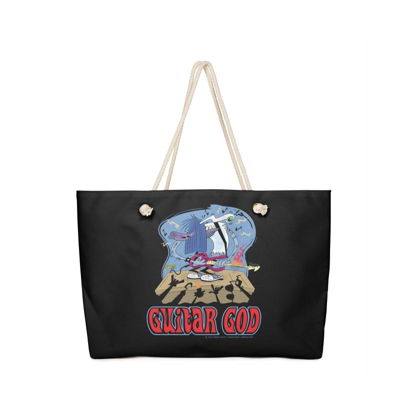Guitar God Accessories Bag by righthemispherelaboratory's Shop
