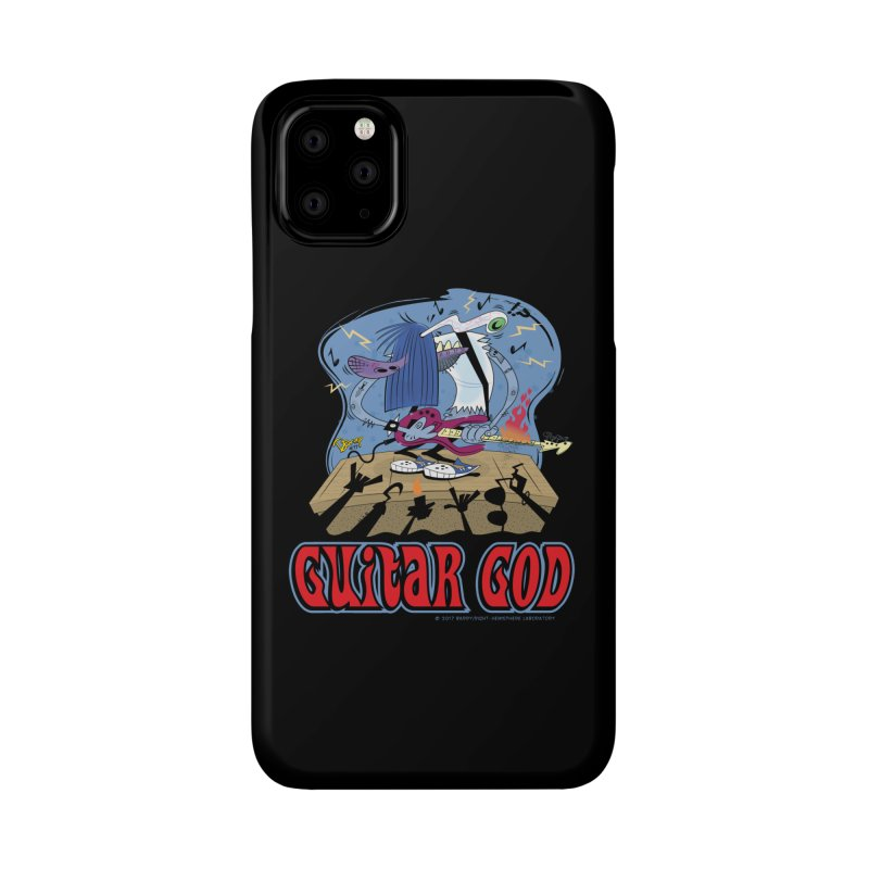 Guitar God Accessories Phone Case by righthemispherelaboratory's Shop