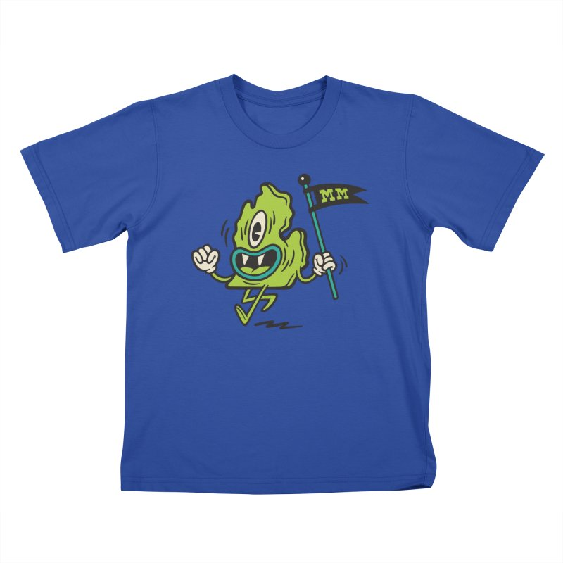 Mitten Monsters Kids T-Shirt by Rikcat