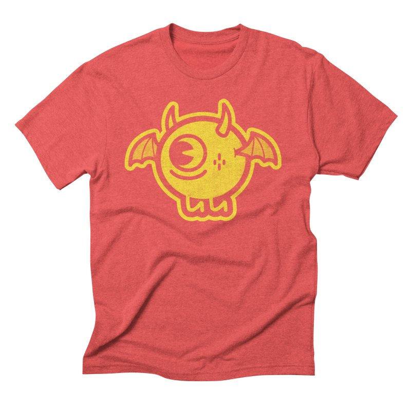 Lil' Demon - Yellow Men's T-Shirt by Rikcat