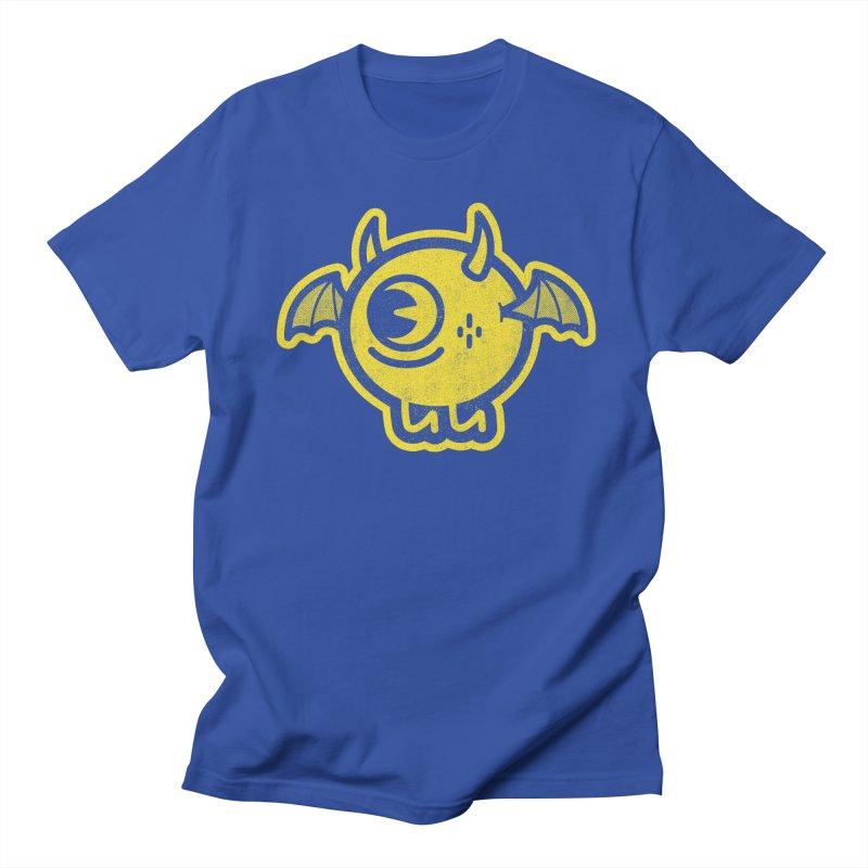 Lil' Demon - Yellow Men's T-Shirt by Rikcat