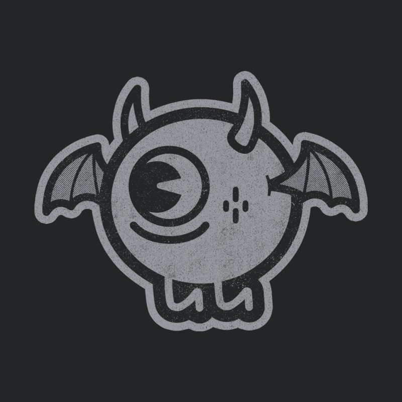 Lil' Demon - Gray Kids Toddler Longsleeve T-Shirt by Rikcat