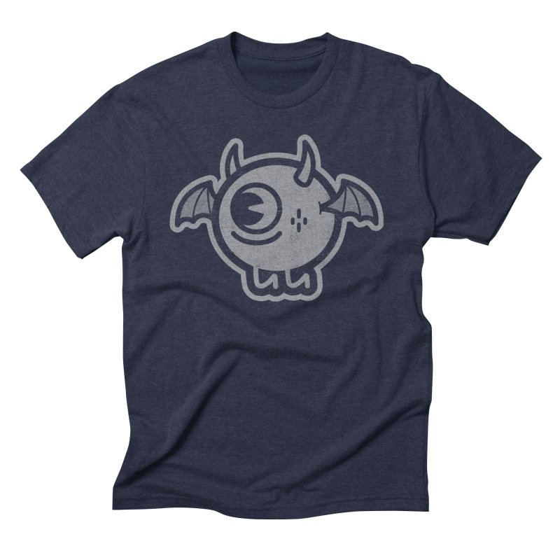Lil' Demon - Gray Men's Triblend T-Shirt by Rikcat