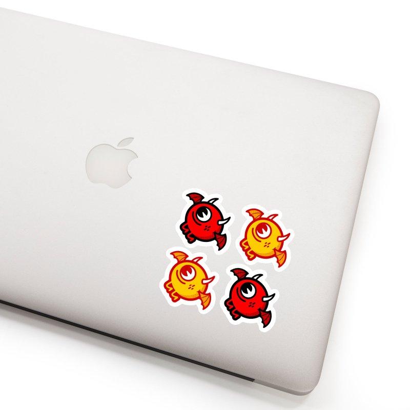 LIl' Demon Sticker Sheet Accessories Sticker by Rikcat