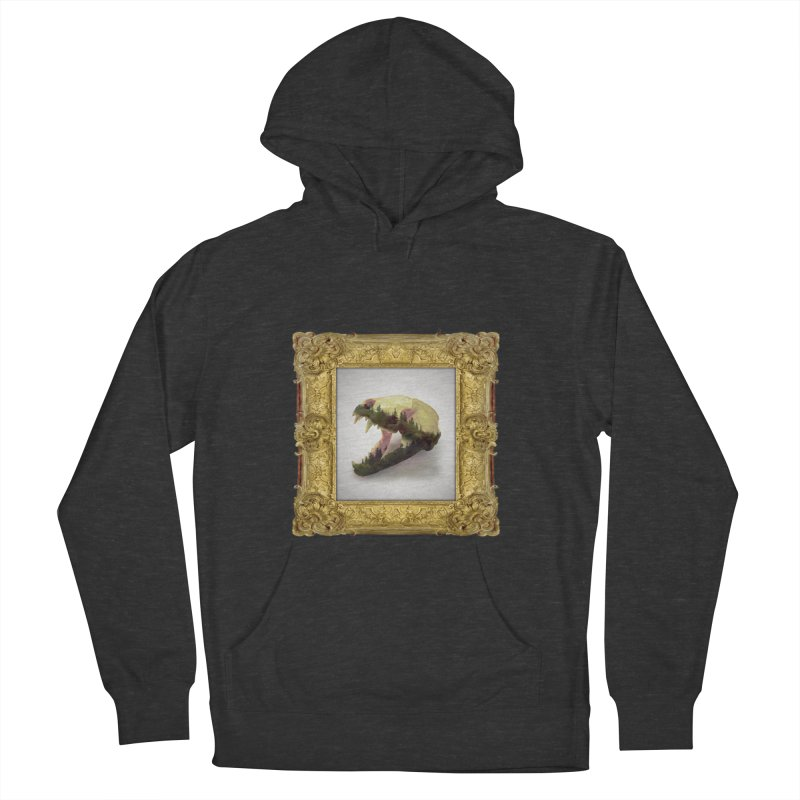 Badger Skull Men's Pullover Hoody by rikimountain's Artist Shop