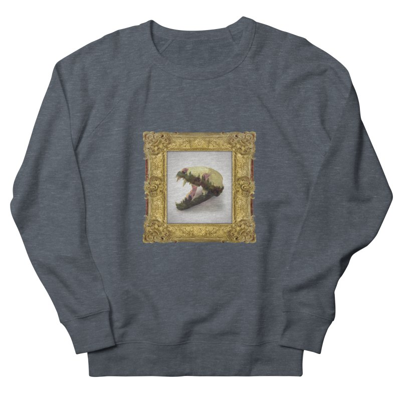 Badger Skull Women's Sweatshirt by rikimountain's Artist Shop
