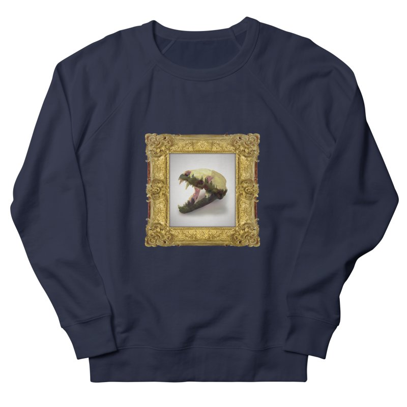 Badger Skull Women's Sweatshirt by rikimountain's Artist Shop
