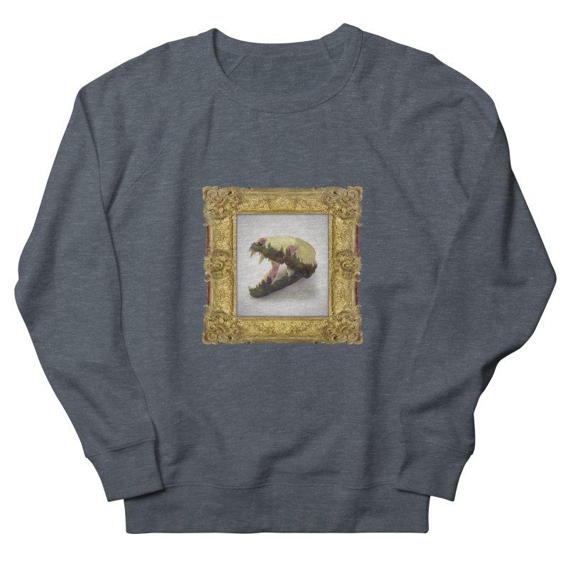 Badger Skull Men's Sweatshirt by rikimountain's Artist Shop