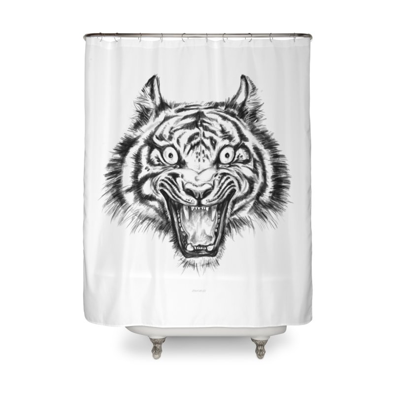 LOL Home Shower Curtain by rikkivelez's Artist Shop