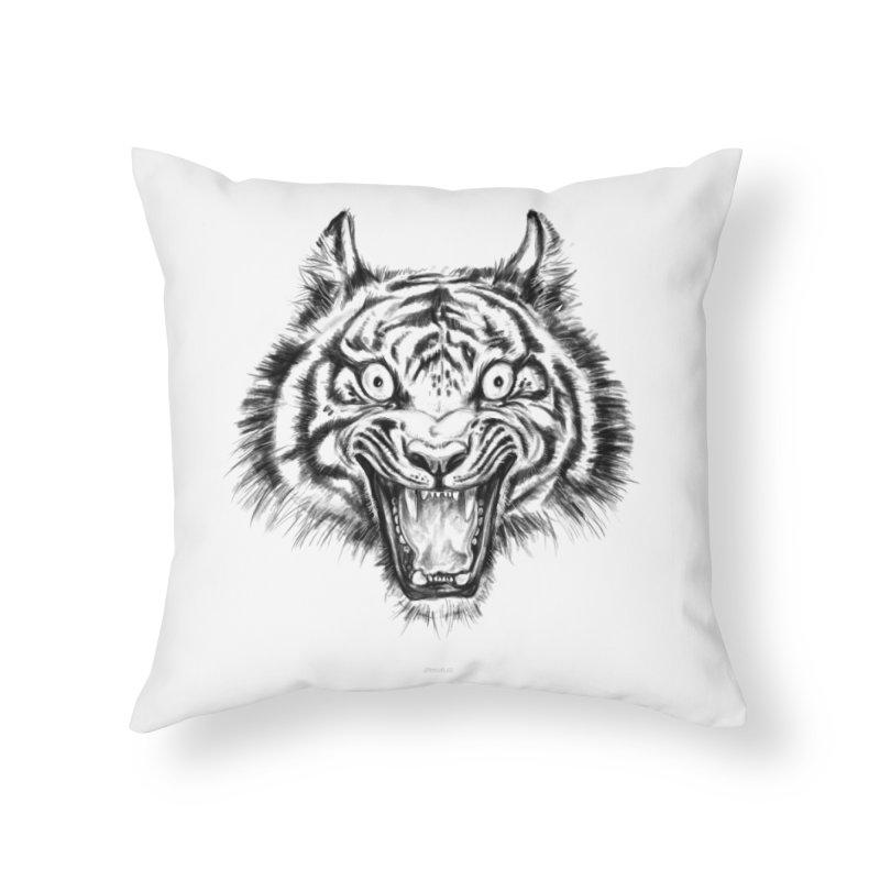 LOL Home Throw Pillow by rikkivelez's Artist Shop