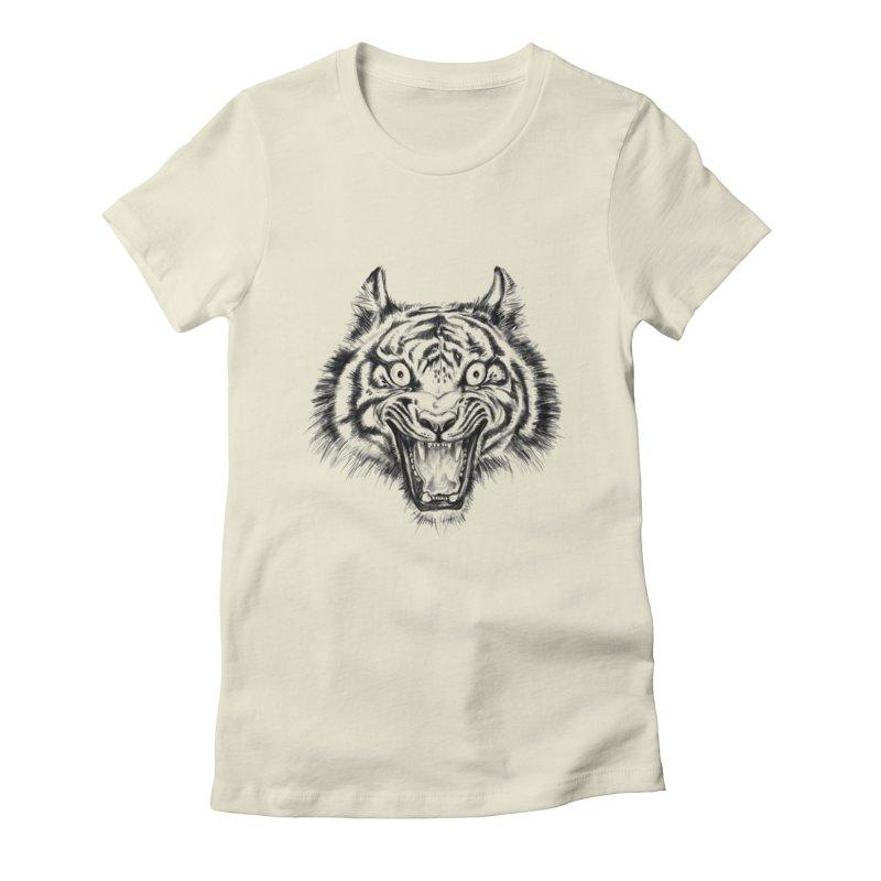 LOL Women's Fitted T-Shirt by rikkivelez's Artist Shop