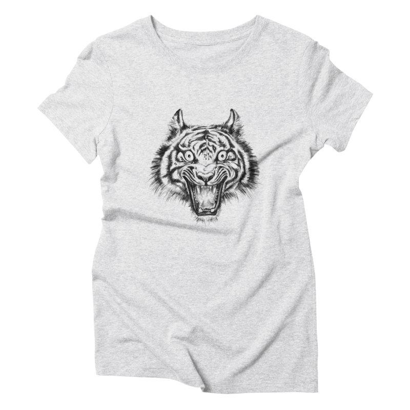 LOL Women's Triblend T-shirt by rikkivelez's Artist Shop