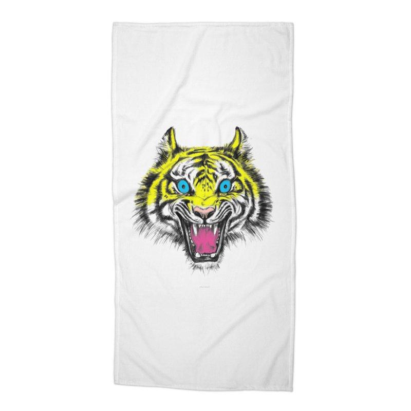LOL CMYK Accessories Beach Towel by rikkivelez's Artist Shop