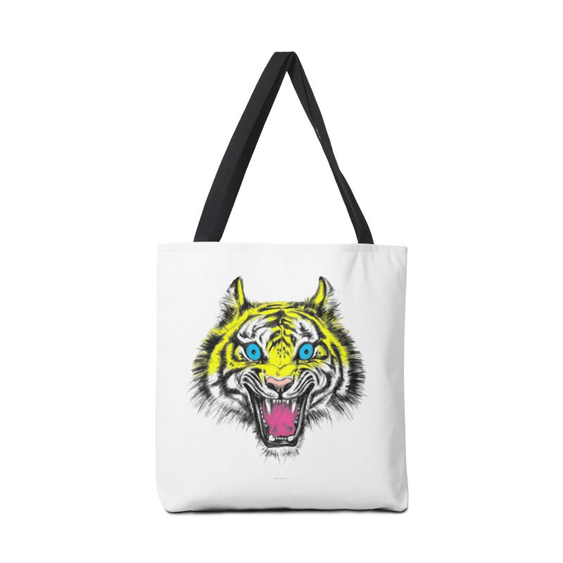 LOL CMYK Accessories Bag by rikkivelez's Artist Shop