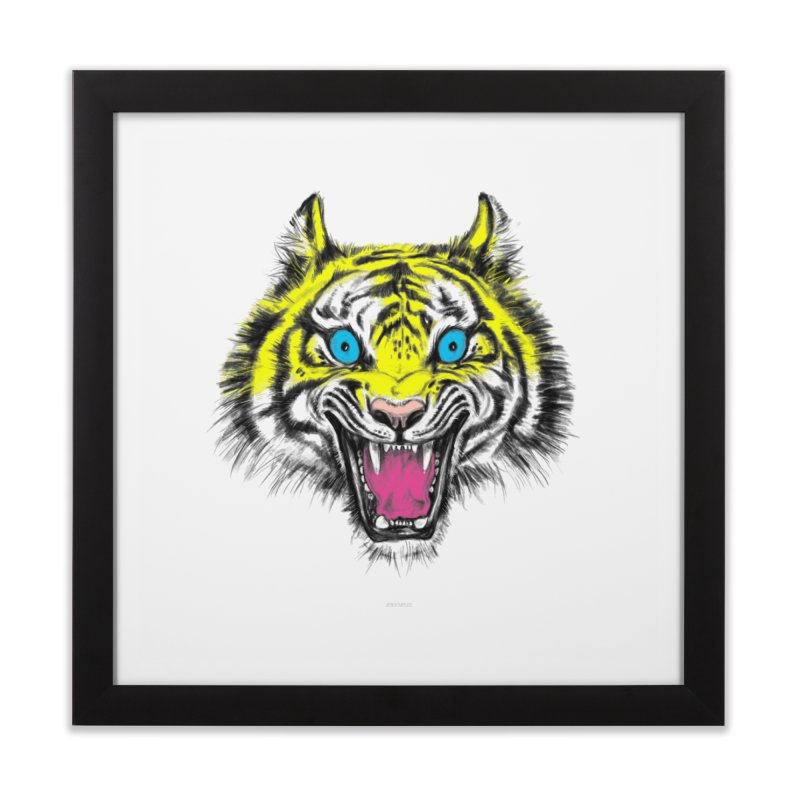 LOL CMYK Home Framed Fine Art Print by rikkivelez's Artist Shop