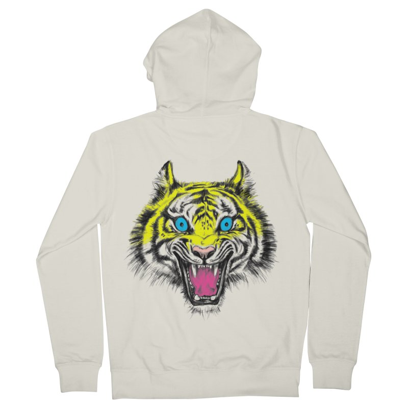 LOL CMYK Men's Zip-Up Hoody by rikkivelez's Artist Shop