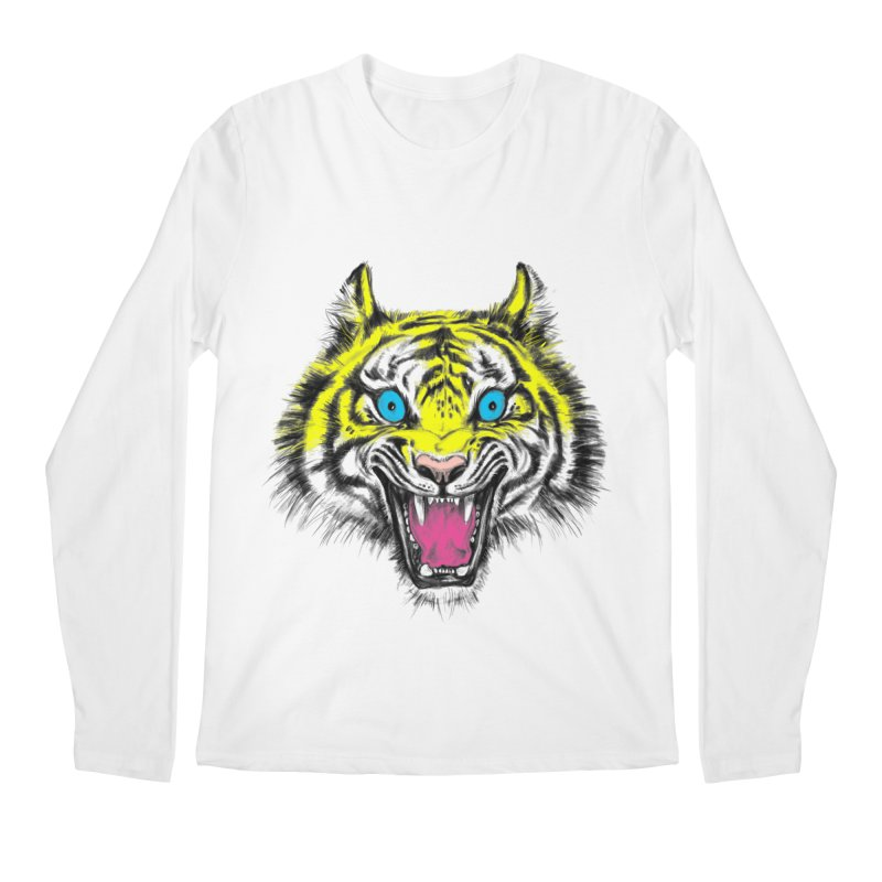 LOL CMYK Men's Longsleeve T-Shirt by rikkivelez's Artist Shop