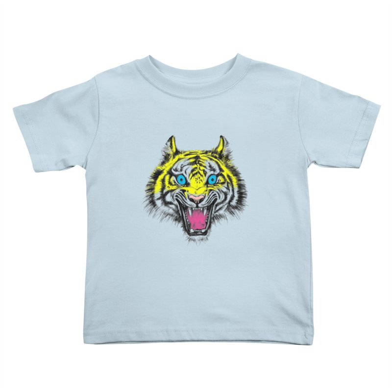 LOL CMYK Kids Toddler T-Shirt by rikkivelez's Artist Shop