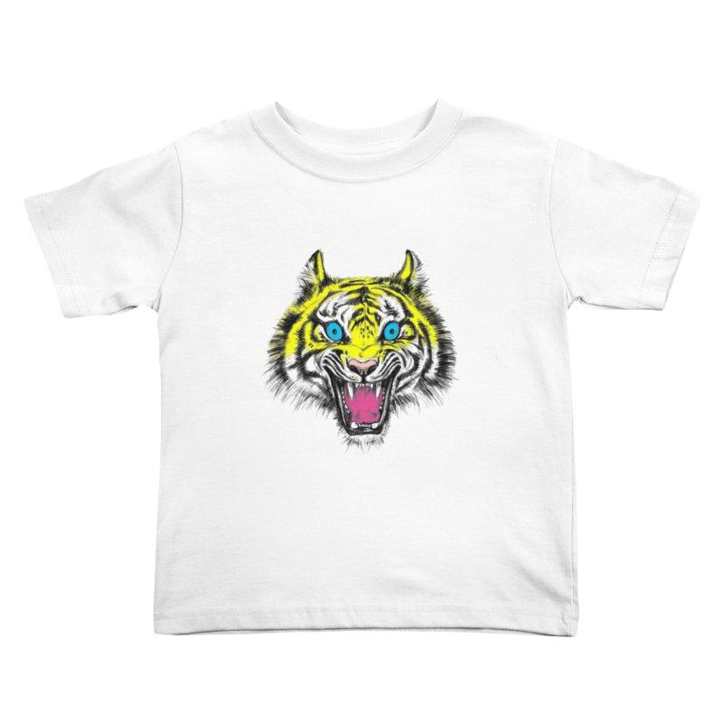 LOL CMYK Kids Toddler T-Shirt by rikkivelez's Artist Shop
