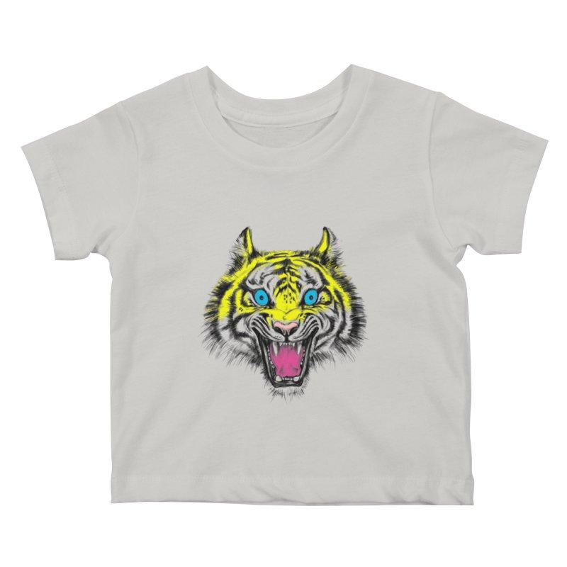 LOL CMYK Kids Baby T-Shirt by rikkivelez's Artist Shop