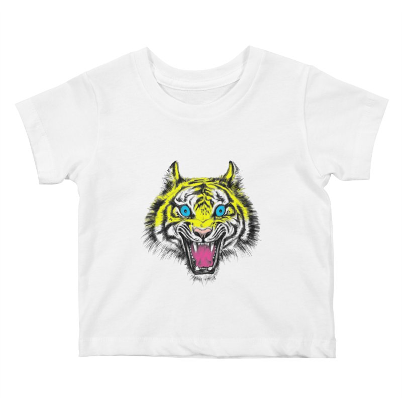 LOL CMYK Kids Baby T-Shirt by rikkivelez's Artist Shop