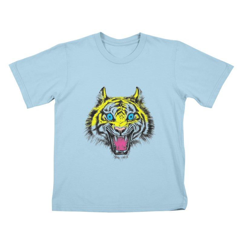 LOL CMYK Kids T-shirt by rikkivelez's Artist Shop