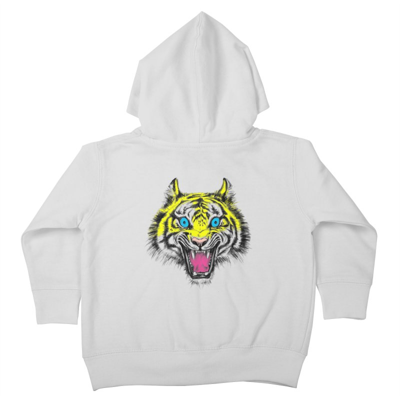 LOL CMYK Kids Toddler Zip-Up Hoody by rikkivelez's Artist Shop