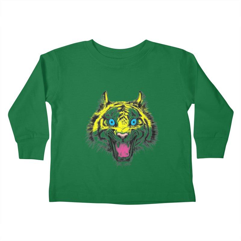 LOL CMYK Kids Toddler Longsleeve T-Shirt by rikkivelez's Artist Shop