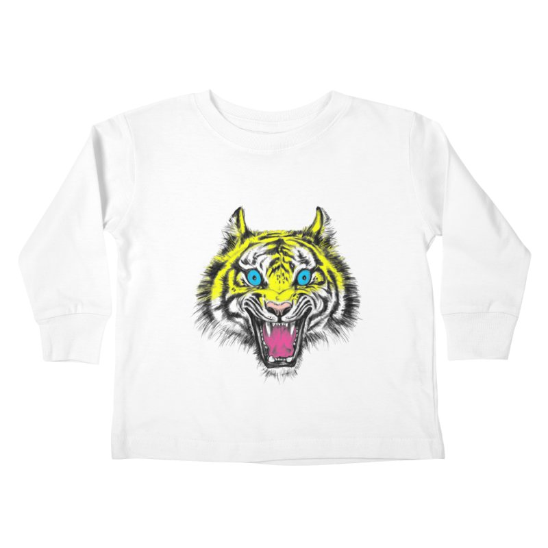 LOL CMYK Kids Toddler Longsleeve T-Shirt by rikkivelez's Artist Shop