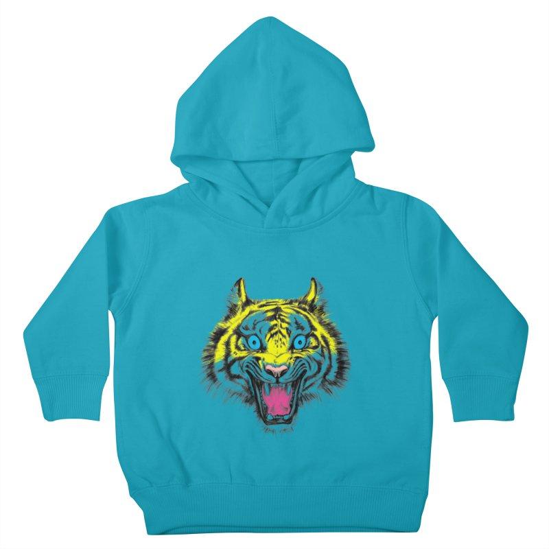 LOL CMYK Kids Toddler Pullover Hoody by rikkivelez's Artist Shop