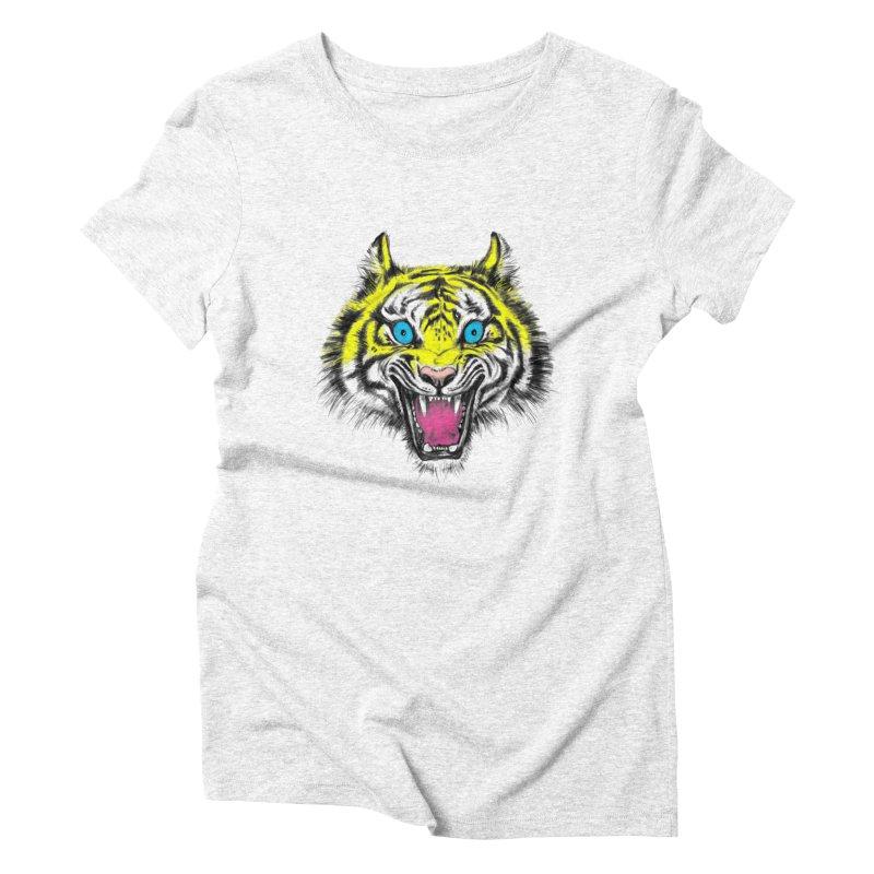LOL CMYK Women's Triblend T-shirt by rikkivelez's Artist Shop