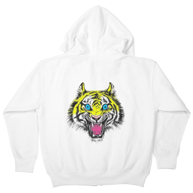 LOL CMYK Kids Zip-Up Hoody by rikkivelez's Artist Shop