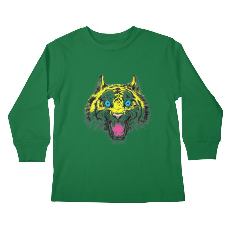 LOL CMYK Kids Longsleeve T-Shirt by rikkivelez's Artist Shop