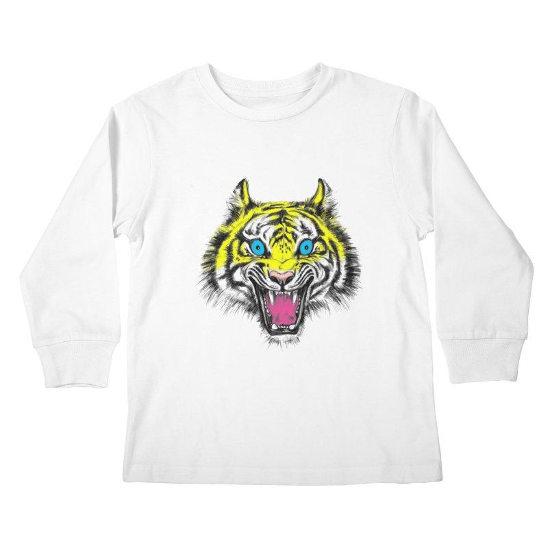 LOL CMYK Kids Longsleeve T-Shirt by rikkivelez's Artist Shop