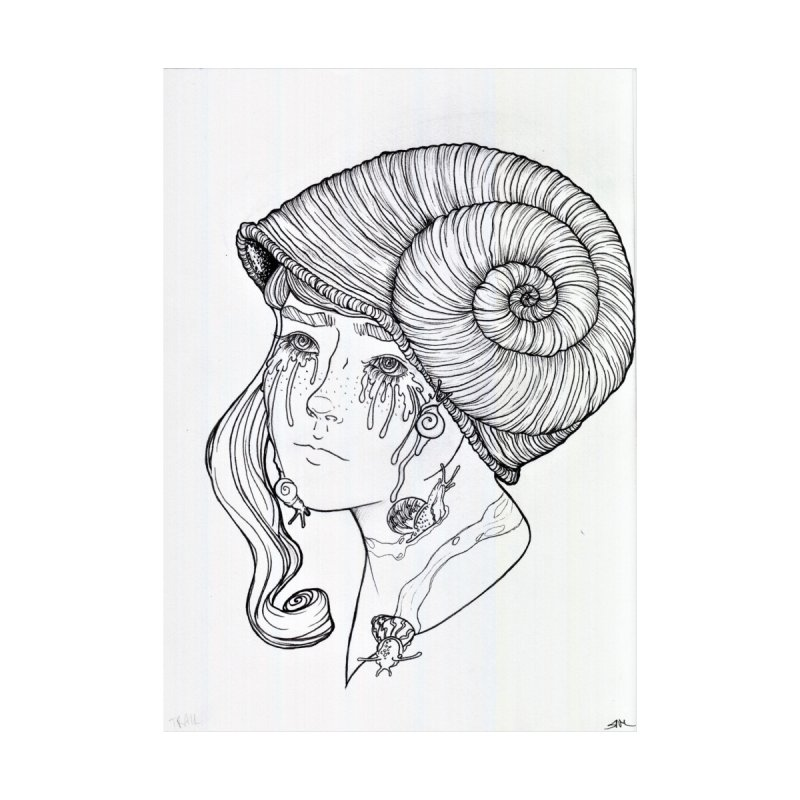 Snail Trails Men's T-Shirt by rikkuriffic's Artist Shop