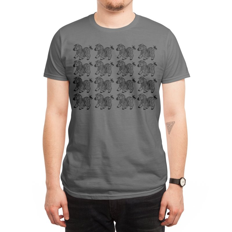 Black and White and Zed All Over Men's T-Shirt by rikkuriffic's Artist Shop
