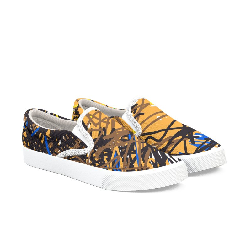 Leo Women's Slip-On Shoes by rimadi's Artist Shop