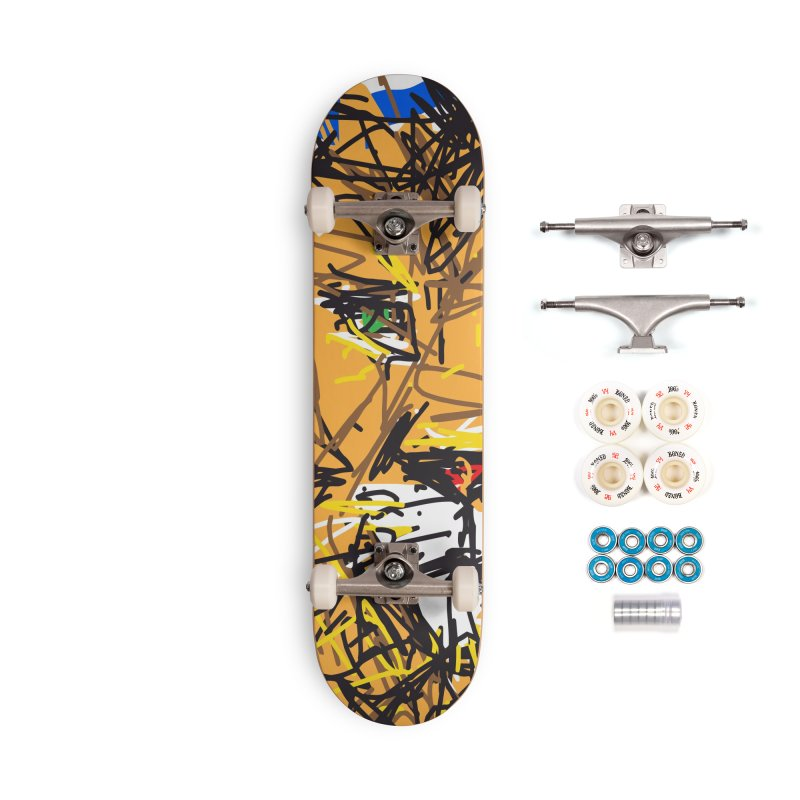 Leo Accessories Complete - Premium Skateboard by rimadi's Artist Shop