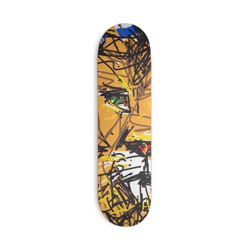Leo Accessories Deck Only Skateboard by rimadi's Artist Shop