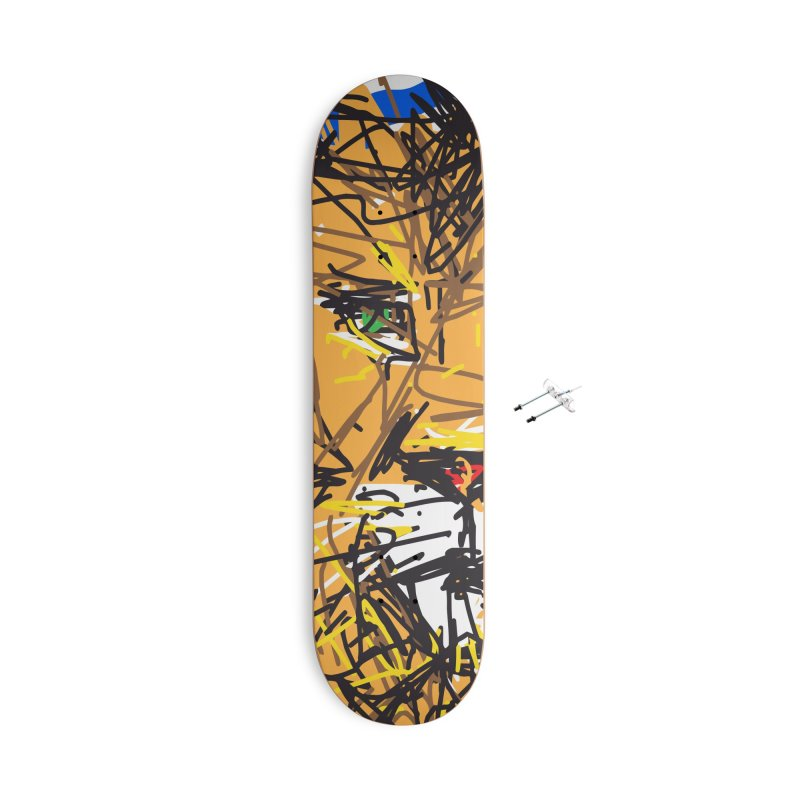 Leo Accessories With Hanging Hardware Skateboard by rimadi's Artist Shop