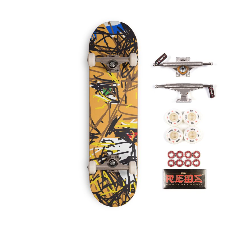 Leo Accessories Complete - Pro Skateboard by rimadi's Artist Shop