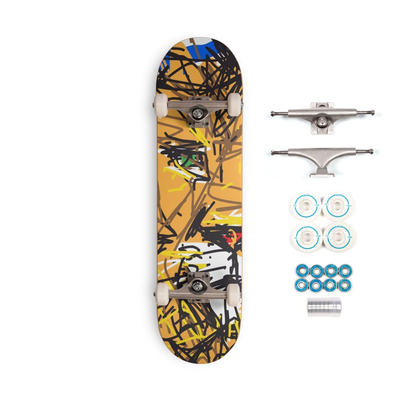 Leo Accessories Complete - Basic Skateboard by rimadi's Artist Shop