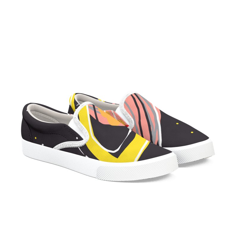 Saturn Women's Slip-On Shoes by rimadi's Artist Shop