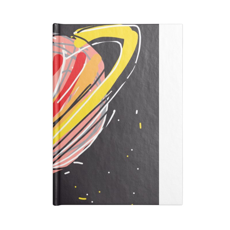 Saturn Accessories Notebook by rimadi Shop