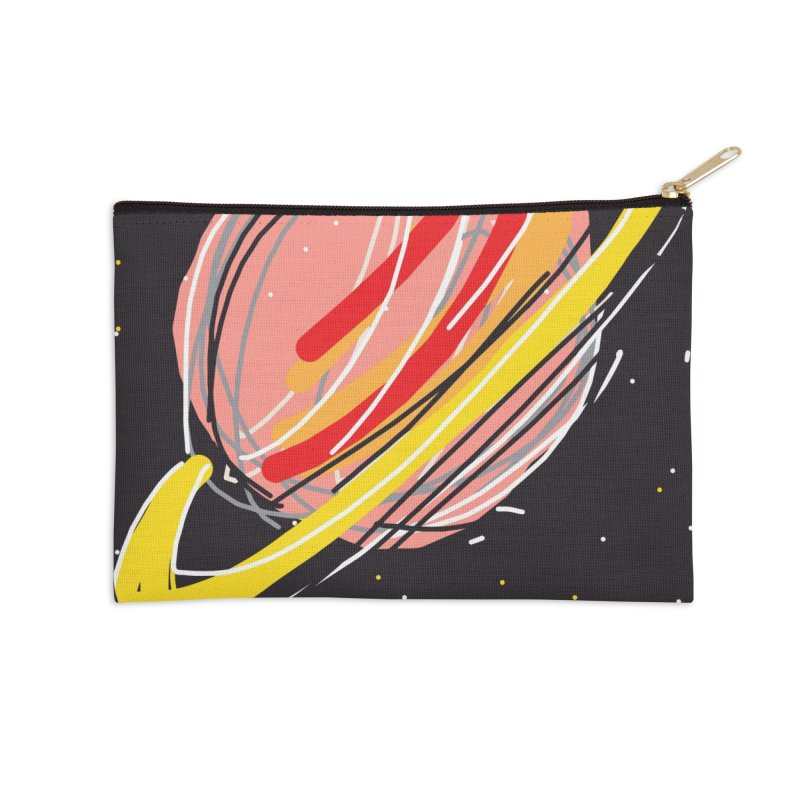 Saturn Accessories Zip Pouch by rimadi Shop