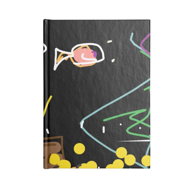 Treasure Accessories Blank Journal Notebook by rimadi's Artist Shop