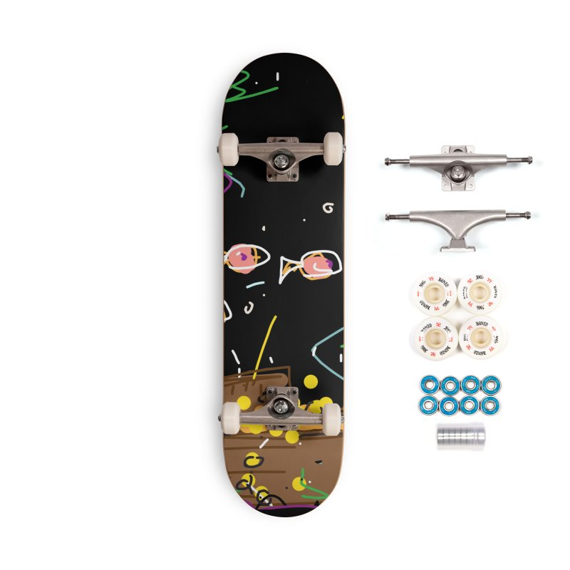 Treasure Accessories Complete - Premium Skateboard by rimadi's Artist Shop